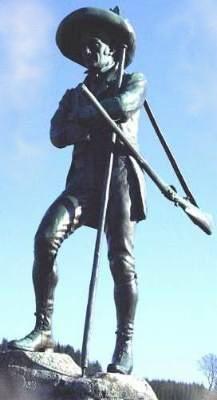 Erzherzog Johann Denkmal in Mariazell