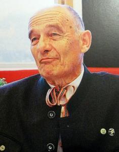 Obmann Fritz Pingl